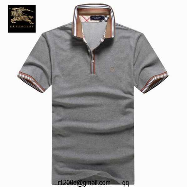 Homme Cher Polo Burberry tee Shirt Pas achat Discount tffCxqPz