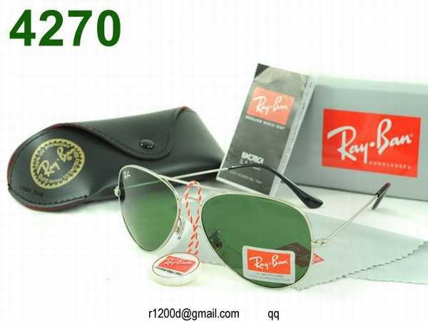 lunette ray ban aviator soldes