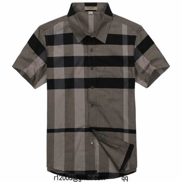 Discount Style Chemise De chemise France Marque chemise Homme Burberry paXXwH