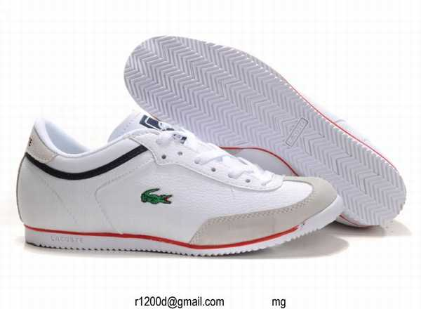 Chaussures Basket nouveau Cher chaussures Lacoste Moins ggrqwZ5