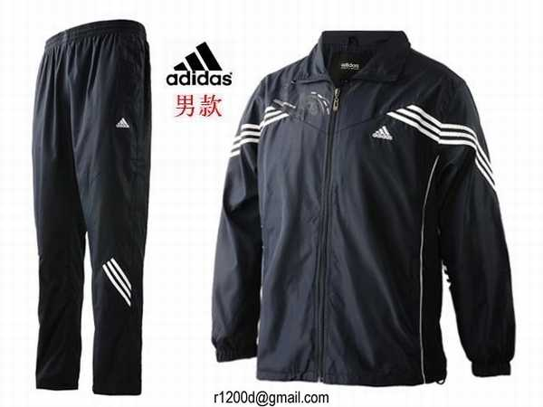 jogging hommes adidas polyester