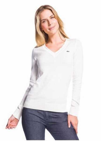 pull Lacoste Col Femme Pas Cher Lacoste pull V Pull Raye FAwPtSxqv
