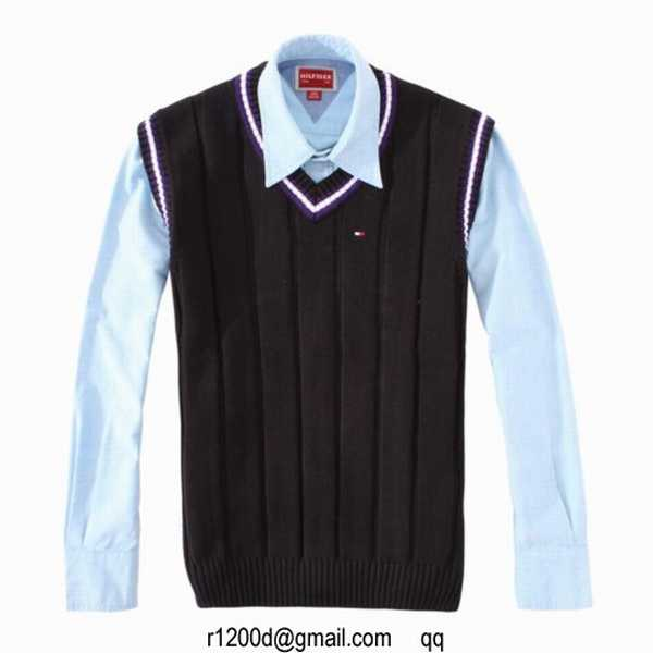pull sans manche col v homme,pull tommy hilfiger blanc,pull tommy hilfiger  a prix discount 08aaea77e64