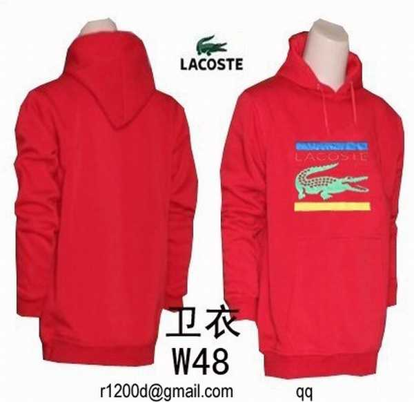Lacoste Capuche Pas Gris Cher Homme Cher A Sweat sweat n4wYWBqYd